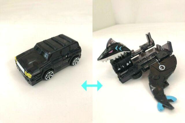 KINGJAWS BLUE Transformable Robot Car Korea TV Figure TURNING MECARD 2cards