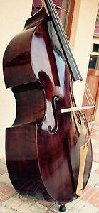 Handgemachter-Meister-Kontrabass-Antony-Posch-Nachbau-Modell