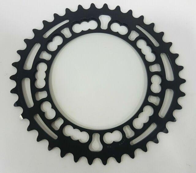 SBS Redlne  Chain ring gear 5 bolt 110 mm BCD racing chainwheel 43 T BLACK
