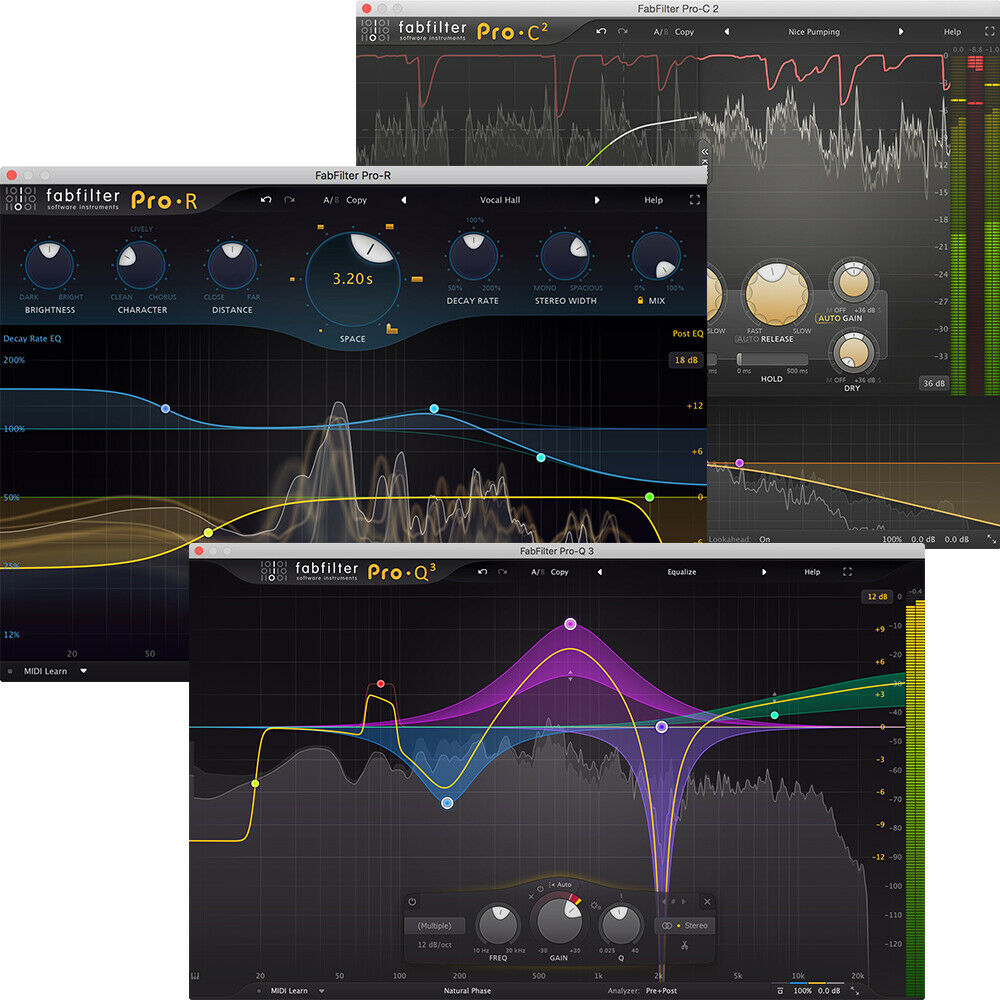 FabFilter Essentials Bundle (Electronic Delivery) - Authorized Dealer