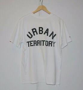 WTAPS-Urban-Territory-T-Shirt-Made-In-Japan-sz-3-L-USED