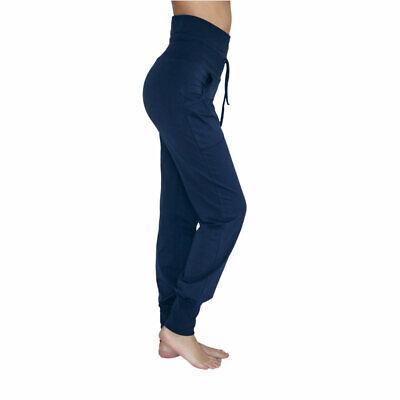 Leela Cotton Damen Yoga-Hose Bio-Baumwolle//Elasthan