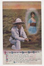 WW1, Till The Sands Of The Desert Grow Cold (1) Bamforth Postcard, B350