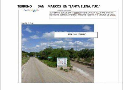TERRENO SAN MARCOS EN SANTA ELENA YUC EXCELENTE UBICACION