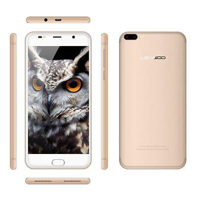 "LEAGOO M7 Smartphone 5.5"" HD IPS Android 7.0 16GB ROM Fingerprint Dual Camera"