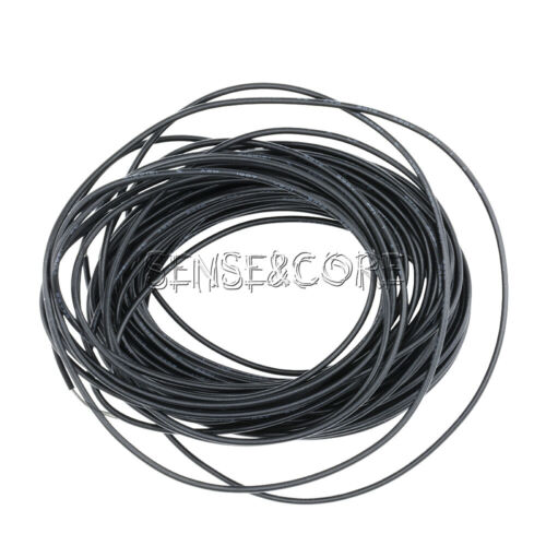 Flexible Stranded of Hook-up UL 1007 24 AWG wire cable Black 10M 300V
