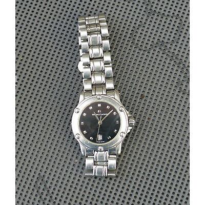 Maurice Lacroix Armbanduhr für Damen Edelstahl Quartz