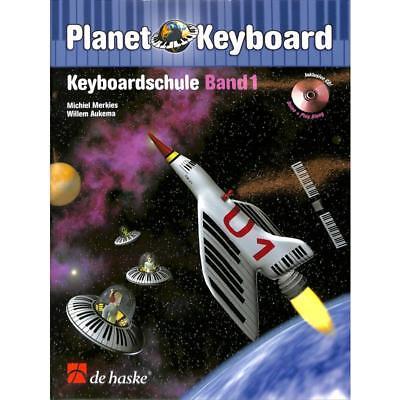 "Planet Keyboard Keyboardschule mit CD 1 Bleistift /""Musikmotiv/"""