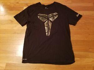 Womens NIKE Kobe T-Shirt Large L Bryant Black Mamba Logo Dri-Fit nice
