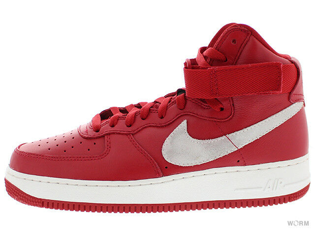 NIKE AIR FORCE 1 HI RETRO QS  NAI KE  743546-600 gym red summit white Size 11