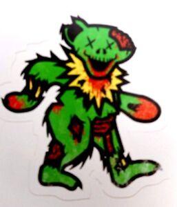 The Grateful Dead Dancing Bear Zombie Bear Grateful Undead Ebay