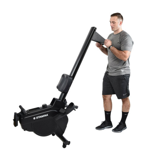 Videos Stamina DT 397 Rowing Machine AIR Rower w// 8 MAGNETIC Resistance Levels