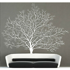 White Birch Tree Wall Decal Branch Forest Decals Large