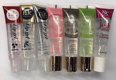 Verwonderlijk Clear Lip Gloss Oil Gel By NK & Kiss Brand Mint RoseHip Coconut KP-46