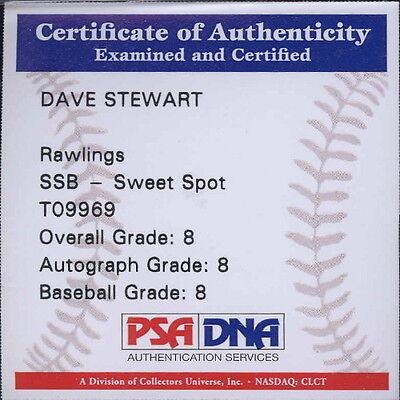 Autographed Baseball - Dave Stewart