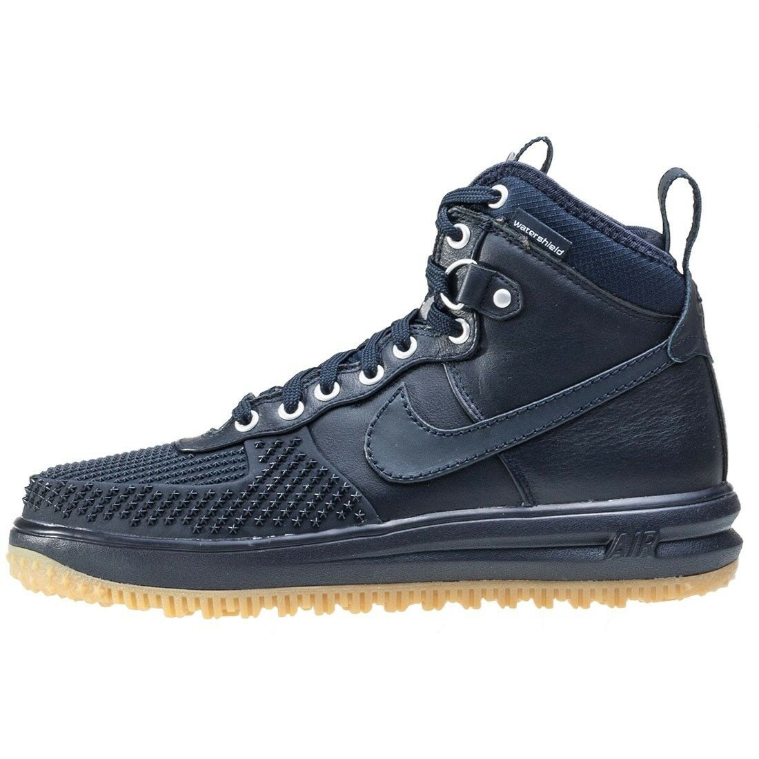 Nike Lunar Air Force 1 duckBotas azul goma De inferior 805899Sz 8 Botas De goma Invierno dd185c