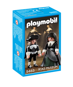 PLAYMOBIL PLAYMOBIL PLAYMOBIL 9483 Maerten Soolmans et d'Oopjen Coppit de Rembrandt 1183e3
