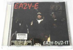 Eazy-E-CD-Eazy-Duz-It-Music-Album-RARE-Vintage-90-039-s-Rap-Dr-Dre-Island-Records