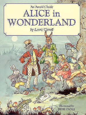 """AS NEW"" Lewis Carroll, Alice in Wonderland, Book"