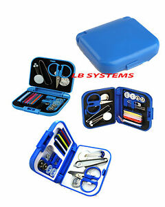 Mini Travel Kit Sewing Kit Buttons Needle /& Thread Pocket Size Pins Handy Travel