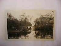 Real Photo Postcard RPPC - Waupaca River Waupaca WI Wisconsin #358