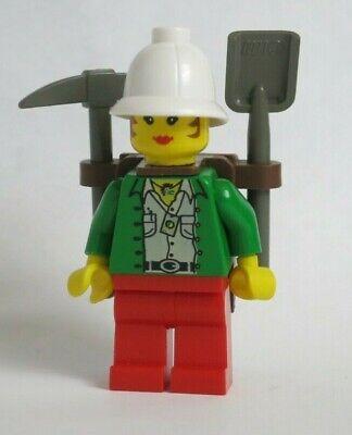Lego Desert - adv015 Minifig Adventurers Miss Gail Storm