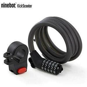 Segway Ninebot 5 chiffres Combinaison De Mot de passe câble de verrouillage pour motos scooters