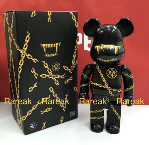 Medicom Be@rbrick 2018 Mishka x Long 400/% Golden Chains Bear Club Bearbrick