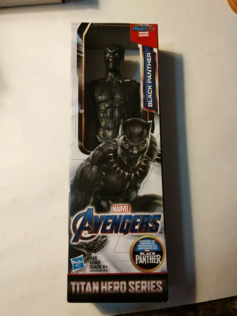 Marvel Hasbro Black Panther Titan Hero Series Avengers 12-Inch Action Figure NEW