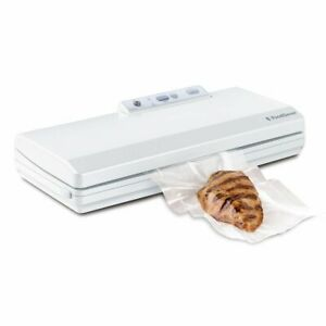 FoodSaver Countertop V2040 Vacuum Sealing System, White with Starter Kit