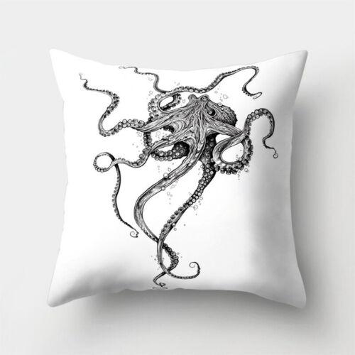 Waist 18/'/' Polyester Cushion Throw Sofa Pillow Case Home Cover Decor