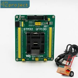 QFP100-LQFP100-QFP-STM32-STM32F4-IC-Test-Socket-Programming-Adapter-0-5mm