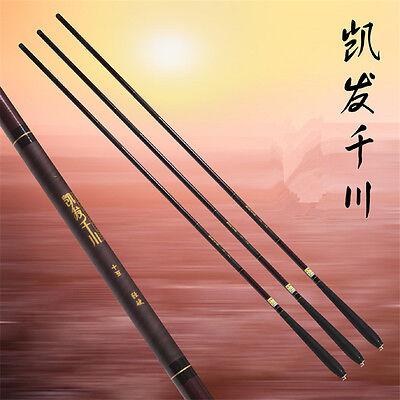 Carbon Fiber Fishing Pole Sea Saltwater Rod Travel Spinning Lure Rod 1.4//1.6//2.1