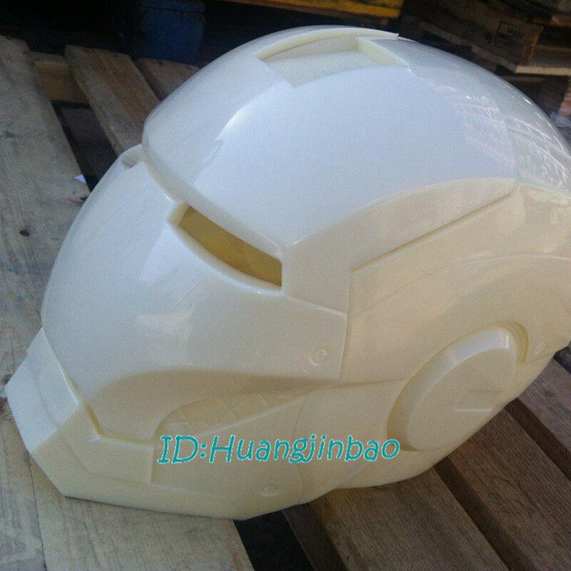 Iron Man Helmet Unpainted ABS Model Kits 1 1 Wearable Unassembled 34X24cm New