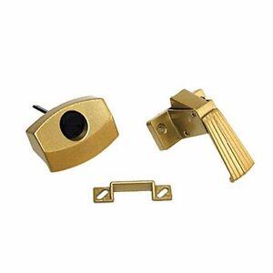 Gold Rv Designer H521 Push Button Screen Door Latch