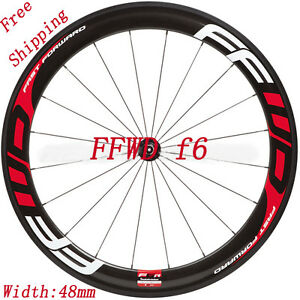 Road Bike Bicycle Wheel Set Rim Stickers For FFWD F Vinyl Decals - Bike vinyl stickers