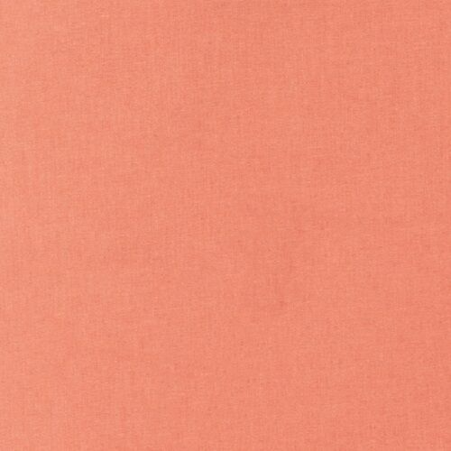 "Kona Cotton-/""Salmon/""-By The Yard-R Kaufman-Solid Color"