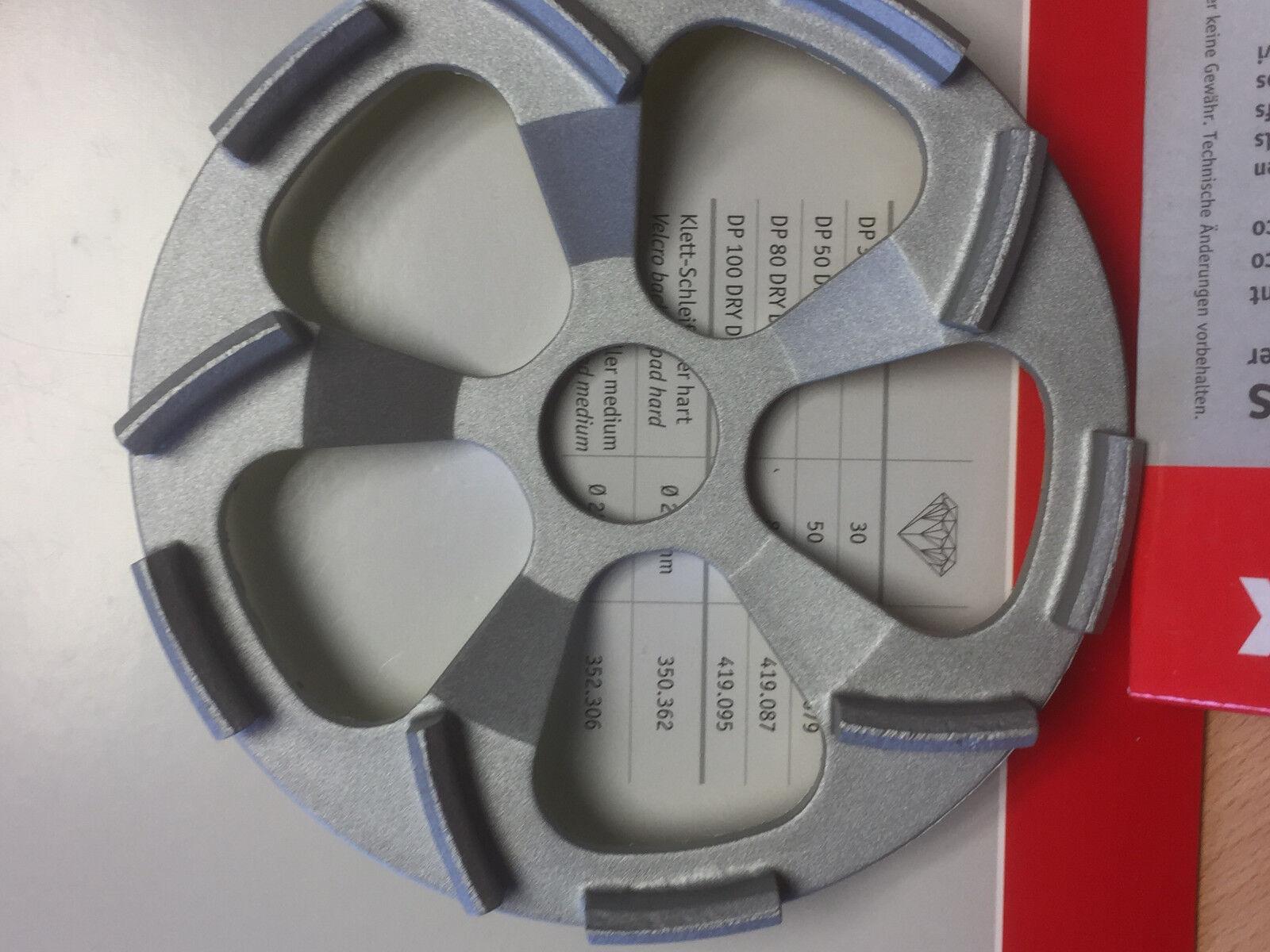 Flex Diamantschleifteller Beton-Whirljet  125mm Für WST 1000FV2  323 063