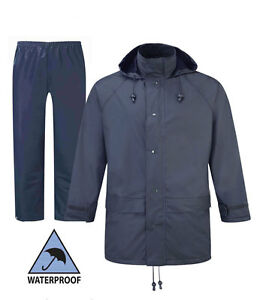 Image is loading Fortress-Mens-Jacket-Hooded-Waterproof-amp-Flex-WaterProof- 776dc4310d9ef
