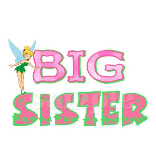 TINKERBELL BIG SISTER IRON ON TRANSFER