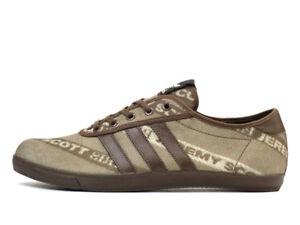 12ef3a4bd574 Rare Adidas JS Jeremy Scott P-Sole Stripe Logo Brand New 8.5 US