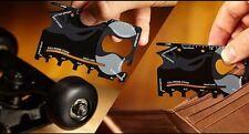 5pcs Multifunctional Pocket Tools Wallet Multi Tool Credit Card Wrench Ruler