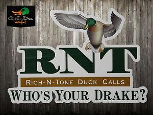 rnt richntone whos your drake decal sticker logo duck