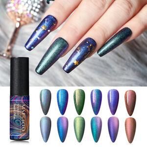 MSRUIOO-5ml-Chameleon-UV-Nail-Gel-Polish-Transparent-Glitter-Shimmer-Gel-Varnish