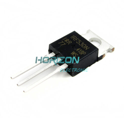 10PCS IRF530NPBF IRF530N Power MOSFET TO-220 IR NEW IC