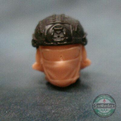 "MH394 Custom Cast head use w//3.75/"" Star Wars GI Joe Acid Rain action figures"