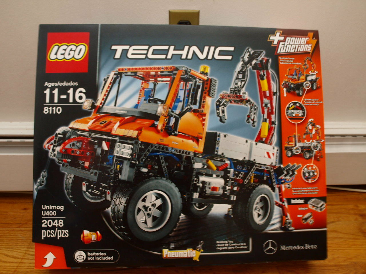 Nouveau LEGO TECHNIC MERCEDES-BENZ UNIMOG U 400 8110 DGSIM US Vendeur
