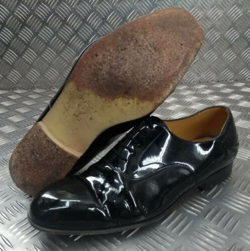 Genuine British Military Issued Patent Leather Service Uniform Dress Shoes