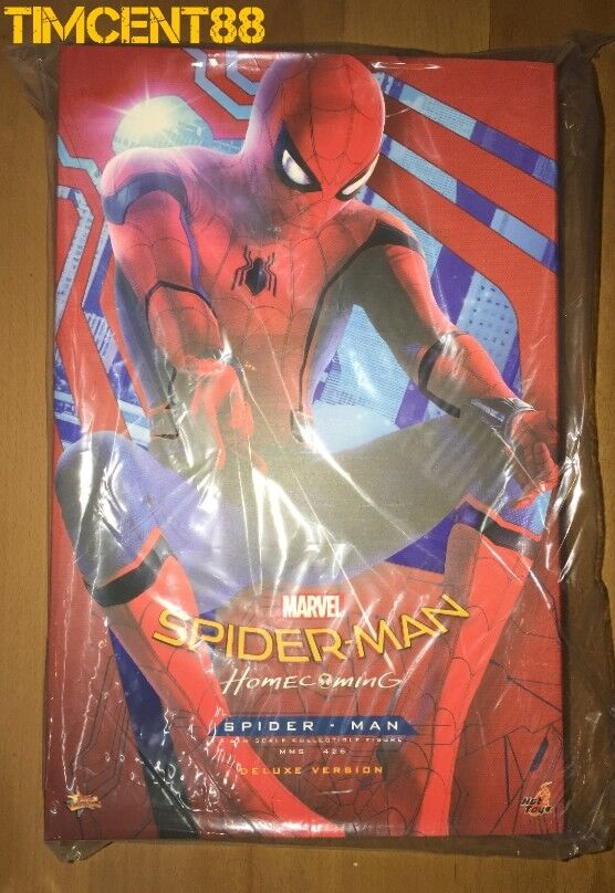 Listo Hot Toys MMS426 Spider-Man regreso a casa Peter Parker Tom Holland Versión Deluxe