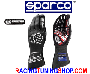 GUANTI-AUTO-SPARCO-EVO-RG-7-OMOLOGATI-FIA-RACING-GLOVES-HANDSCHUHE-FIA-8856-2000